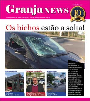 capa da edição 119 do jornal Granja News