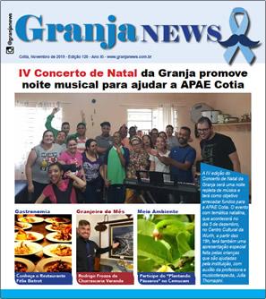 capa da edição 120 do jornal Granja News