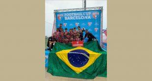 Escola de futebol do São Paulo FC unidade Cotia conquista mais dois títulos na Europa