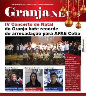 capa da edição 121 do jornal Granja News