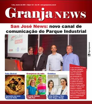 capa da edição 122 do jornal Granja News