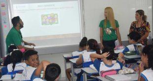 Projeto de educação ambiental inicia nova turma na EM Recanto Vista Alegre