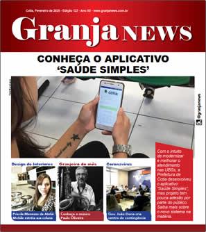 capa da edição 123 do jornal Granja News