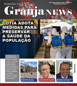capa da edição 124 do jornal Granja News