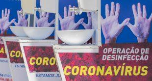 No enfrentamento da Covid-19, Prefeitura de Cotia instala pias e distribui itens de higienização das pessoas em situação de rua