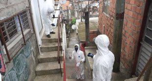Cotia/SP – Região do Jd. Turiguara foi a 1ª a receber o mutirão da Operação Desinfecção contra o Coronavírus