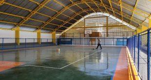 Quadra poliesportiva do Jardim Leonor é mais uma obra entregue pela Prefeitura de Cotia