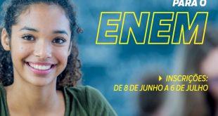 Cotia/SP – Aspirantes ao Enem poderão participar de semi extensivo remoto que começa em julho