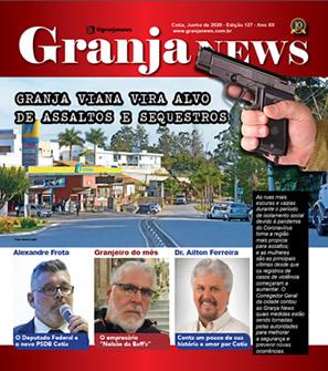 capa da edição 127 do jornal Granja News