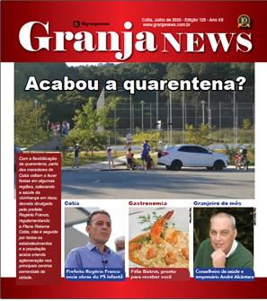 capa da edição 128 do jornal Granja News