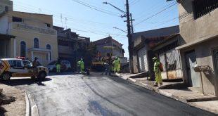 Cotia/SP – Trabalho de revitalização do Jardim Panorama está na fase final
