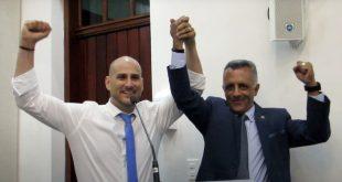 Marcel Muscat e Sargento Oliveirinha são candidatos pelo PSL de Cotia