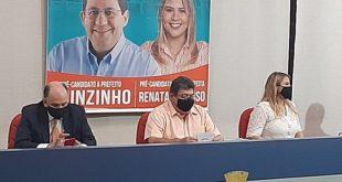 Avante realiza convenção em Cotia e oficializa pré-candidatura de Quinzinho