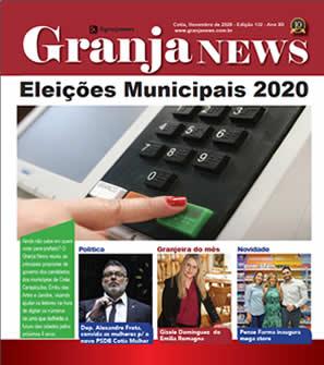 capa da edição 130 do jornal Granja News