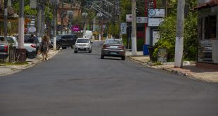 Revitalização da Rua José Félix de Oliveira, na Granja Viana, chega à fase final
