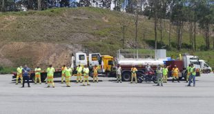 CCR RodoAnel promove treinamento deequipes sobre desobstrução de pista