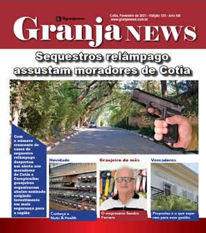 capa da edição 135 do jornal Granja News