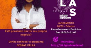 """Prefeitura de Cotia faz parceria e traz palestra """"Empoderamento Feminino"""" do Sebrae Delas"""