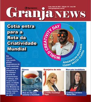 capa da edição 137 do jornal Granja News