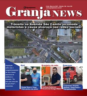 capa da edição 138 do jornal Granja News