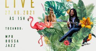 Cotia/SP- No domingo o duo Jardim Sinatore faz live exclusiva com o melhor da MPB