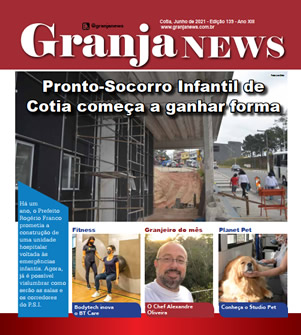 capa da edição 139 do jornal Granja News