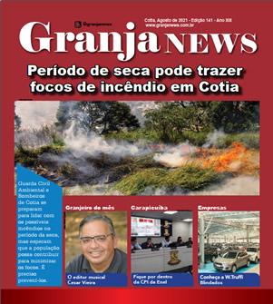 capa da edição 141 do jornal Granja News
