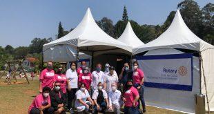 Rotary Club de Cotia – Mulheres Empreendedoras realiza testes gratuitos de COVID RT-qPCR no Parque Tereza Maia