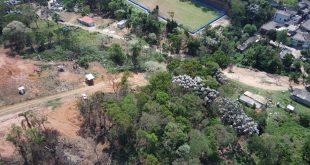 Parque das Nascentes, em Cotia, está sofrendo com o desmatamento e a ocupação desordenada